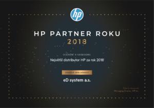HP partner roku 2018