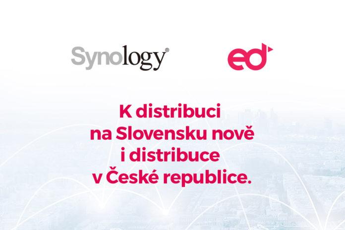 eD system je oficiálním distributorem značky Synology